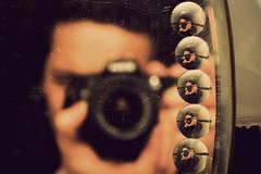 One camera different views (Vikramaditya Bagri) Tags: camera portrait india selfportrait man reflection self lights mirror nikon zoom angles
