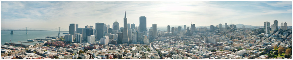 313 of 365 - San Francisco Pano.