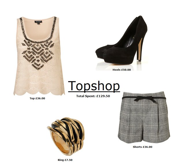 topshop outfit  129.5