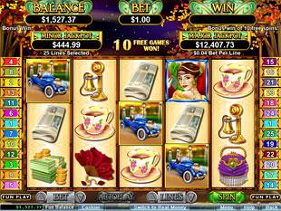 Glitz and Glamour Slot Machine