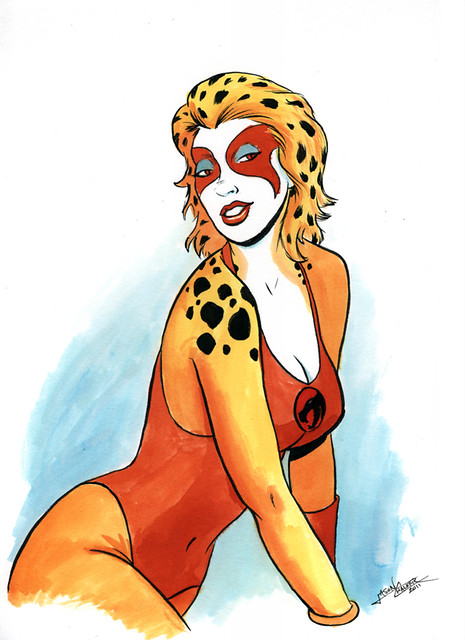Cheetara Pin-Up