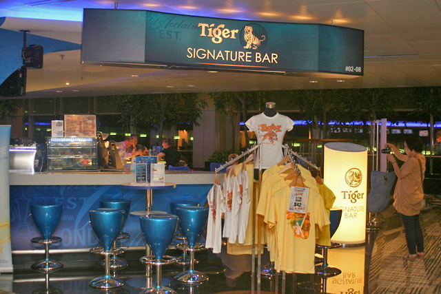 Tiger Signature Bar and Lounge at Terminal 2