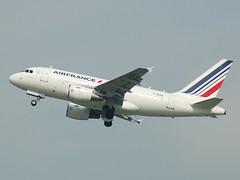 F-GUGA Airbus A318 Air France (johnyates2011) Tags: airplanes airbus dusseldorf airfrance fguga