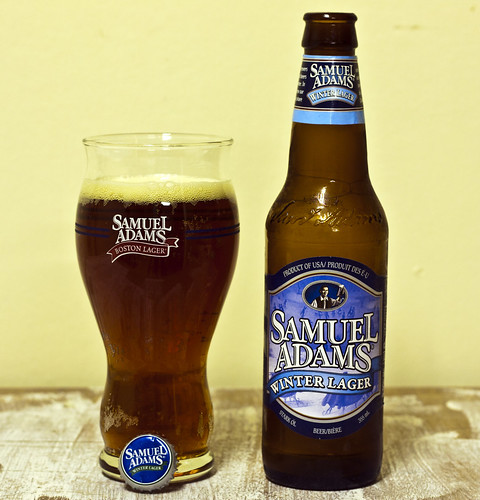 Review: Samuel Adams Winter Lager by Cody La Bière