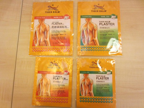 Tiger Balm Plasters