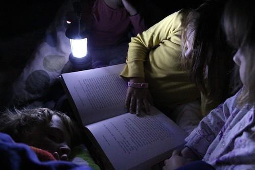 sleepout sleepover - reading