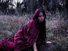 Some day my prince shall come (Stephanie Lorenzo) Tags: red fairytale forest dark onceuponatime cape snowwhite enchanted stephanielorenzo
