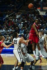 A Blocked Shot (acaben) Tags: basketball pennstate collegebasketball blockedshot ncaabasketball psubasketball pennstatebasketball sasaborovnjak billyolliver