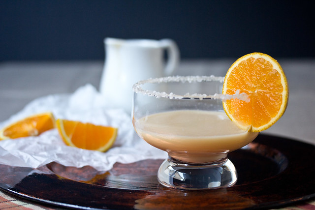 Orange Salted Caramel Margarita