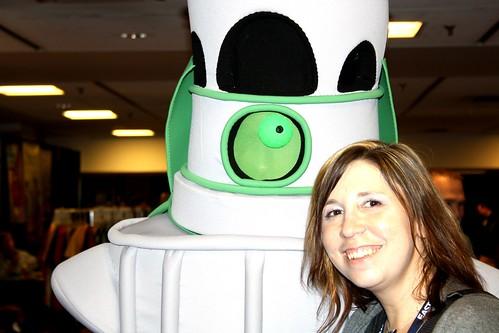 Nelson & Me at 2011 Hal-Con Sci-Fi Fantasy & Comic Convention