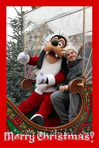 Sam & Santa Goofy