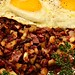 Mmm... Corned beef hash with eggs