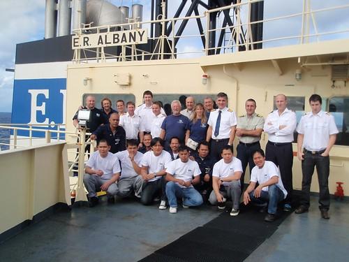 SAR and crew