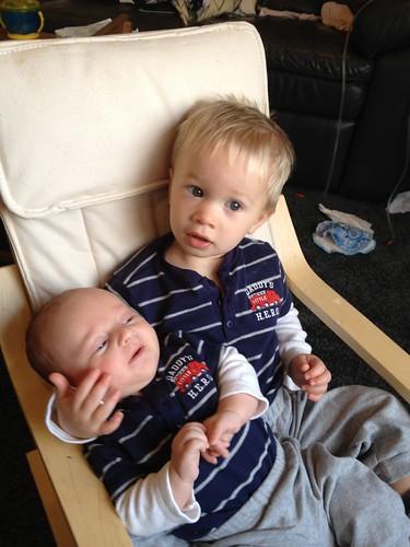 Quinn and Gavin