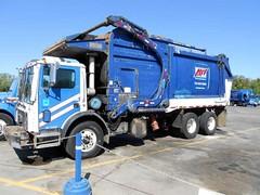 AW Allied Waste Services Mack MR Heil Half-Pack FL (Xpeditor Driver) Tags: mr fl waste mack heil allied