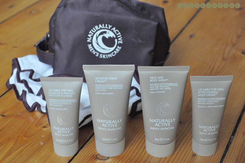 liz earle christmas gift guide mens try me kit