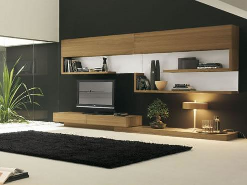 sala decoracion minimalista