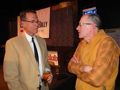 Prof. Dale Carptenter (left) at DL MSP