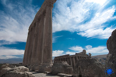 Times change and the monuments remain (sulaiman Aljuhairy) Tags: lebanon landscape temple nikon geographic romanian d90 flickraward