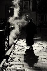 street scene 1 (donvucl) Tags: street morning shadow bw sun steamvent londn donvucl