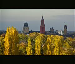 Autumn skyline Maastricht (Bert Kaufmann) Tags: city autumn panorama color colour fall colors skyline maastricht view couleurs herbst herfst autumncolours autumncolors uitzicht stad herfstkleuren cityskyline kleur kleuren pietersberg maastrichtskyline skylinemaastricht chaletbergrust bergrust