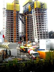 Masterplan EZB, Frankfurt/Main 2011 (Spiegelneuronen) Tags: baustelle architektur bau ostend frankfurtmain bauarbeiten coophimmelblau europischezentralbank