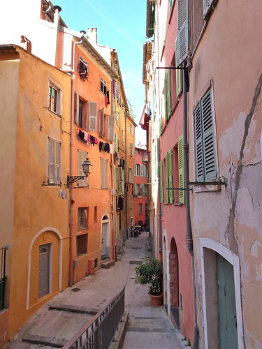 Back streets of Nice