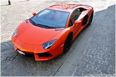 Lamborghini Lp700 Aventador (Driss Romain Dinar (Grand-Est-Supercars.com)) Tags: auto door orange france cars photo italia power voiture porsche nancy moto bmw lamborghini rare bentley maserati spotting supercars spotter worldcars hypercars aventador lp700
