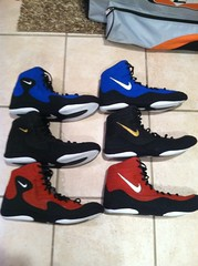 Custom Inflicts - ALL GONE (hvycoach71) Tags: shoes ben wrestling nike og custom rare 2k4 gable freaks p2k asic heilman inflict rulons kolats inflicts nikeinflict speedsweeps custominflicts