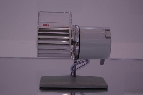 Braun desk fan from the early 1960s