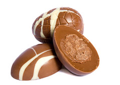 Easter Chocolate Eggs for Marketing