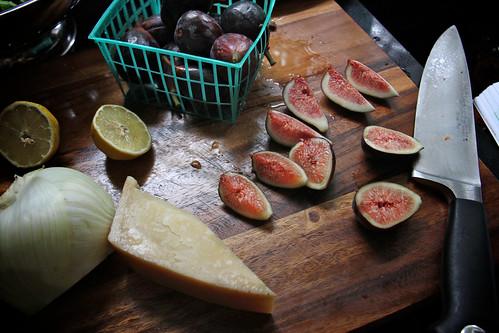 arugula fennel & fig salad