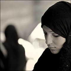 Fragile (cisco ) Tags: portrait woman canon square hijab cisco soul ritratto egitto 500x500 presenze ilcairo soulsound eos5dmarkii bestportraitsaoi winnercontestbw96group500x500