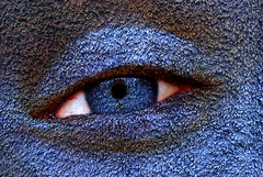 Blue Eyed (Kevin@Nugent) Tags: blue eye texture digitalart wrap layers photoart s2 blend ringexcellence