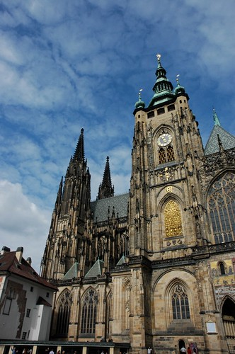 St. Vitus Cathedral, Prague Castle by Richard Bao