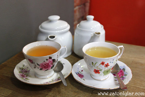 Lemon & Honey and China sencha, Tea and Cake