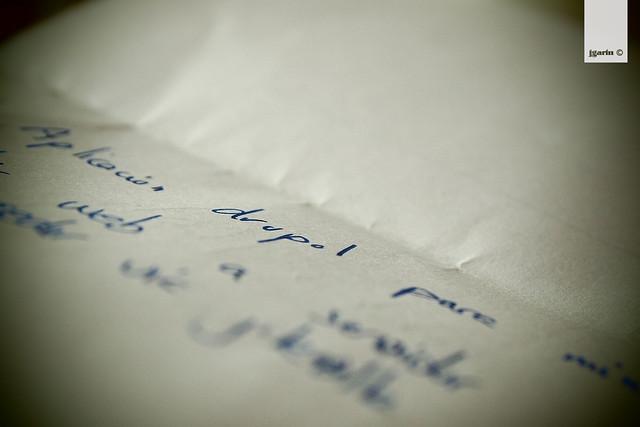 anotaciones sobre Drupal en una trozo de papel