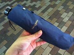 大きな折りたたみ傘