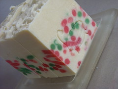 Christmas Cassata Soap