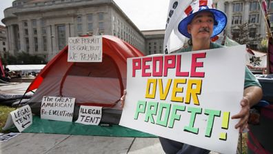 Occupation Washington DC has been granted to permission to remain in Freedom Plaza for another four months. Demonstrations against the economic crisis have spread throughout the United States. by Pan-African News Wire File Photos