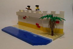 Imperial Fort WIP (The Acquaintance Crate) Tags: classic lego pirates wip