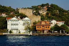 postcard from the Bosphorus (delikizinyeri) Tags: castle canon turkey istanbul bosphorus yal anadoluhisar 5dmarkii