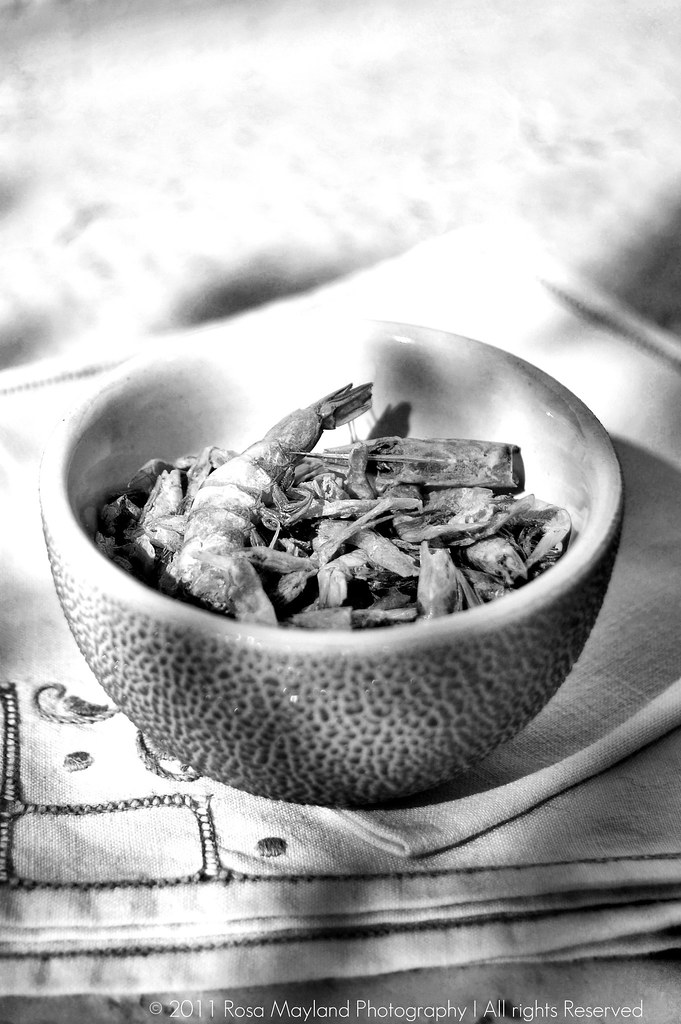 Smoked shrimps B&W 2 bis