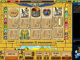 Treasures of Pharaohs slot game online review