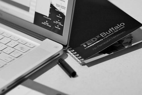 TEDxBuffalo work station