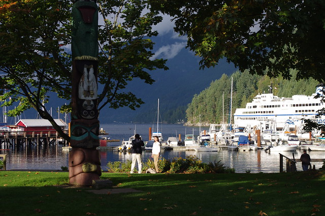 Tourists at Horseshoe Bay