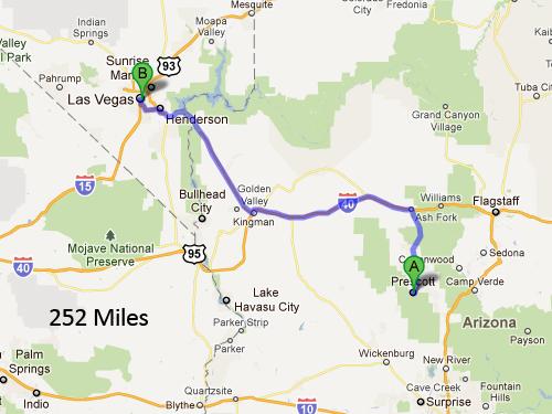 Prescott-to-Las-Vegas