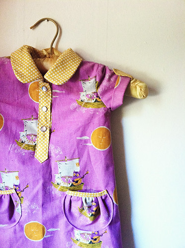 Kitty and Owl Jump Rope Dress