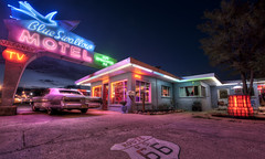 Blue Swallow Motel (Cliff_Baise) Tags: