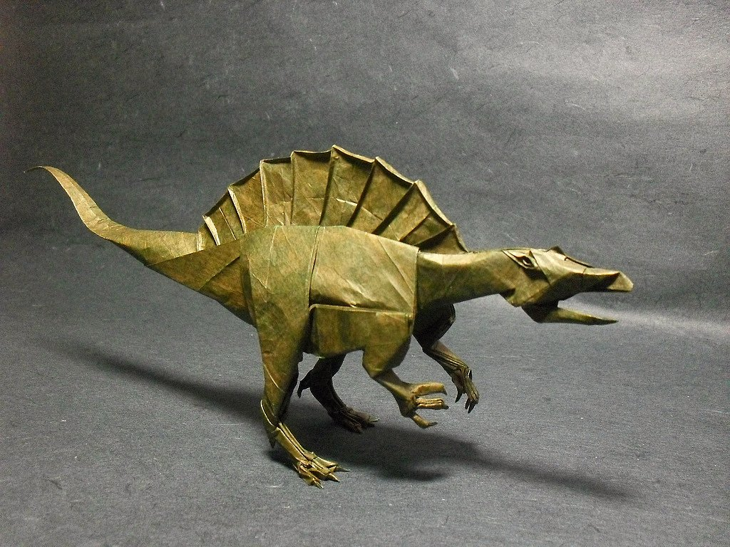 The World's newest photos of origami and spinosaurus ... - photo#17